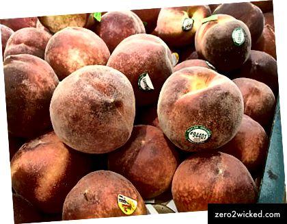 Vänligen gå av min persikor.