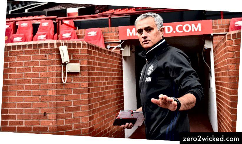 وصل خوسيه مورينيو إلى مانشستر يونايتد في صيف عام 2016