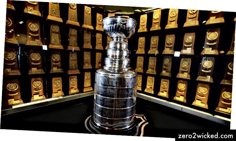 Stanley Cup, himoittu palkinto jääkiekossa.