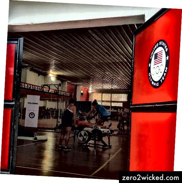Das bescheidenste Fitnessstudio