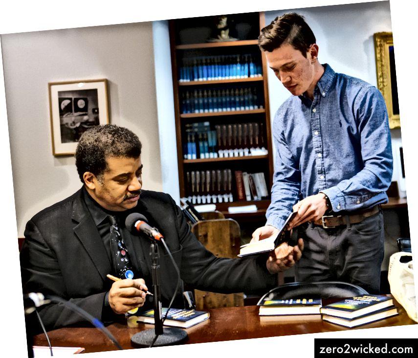David interviewer Neil deGrasse Tyson i North Star Podcast