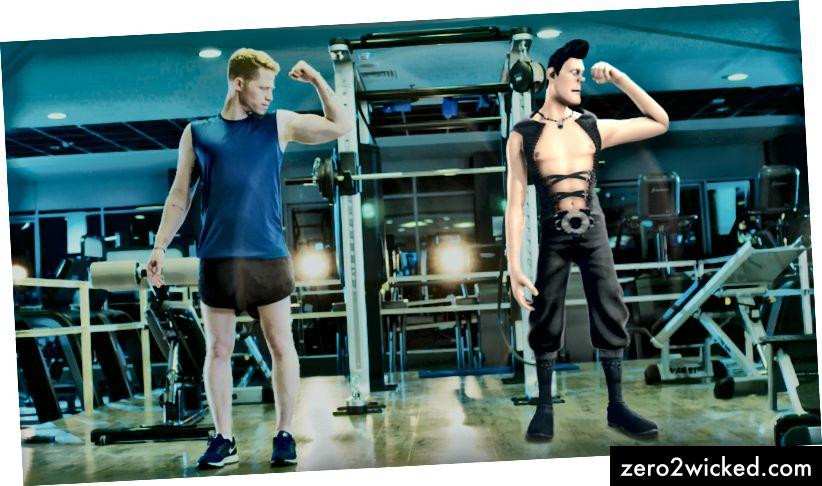 En fitness-ledsager, der motiverer dig