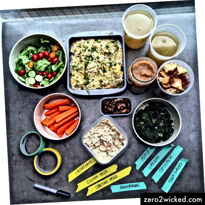 Det kan være vanskeligt at spise alle dine daglige kalorier før kl. 15.00, især med arbejde. Prøv at forberede måltider om aftenen for at tage med dig på arbejde, og våg tidligt op for at tilberede en solid morgenmad. Billedkredit: Tracy Benjamin, Flickr.com.