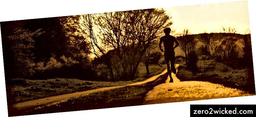 عداء الغروب. الائتمان: vonCroy ، Flickr.com.