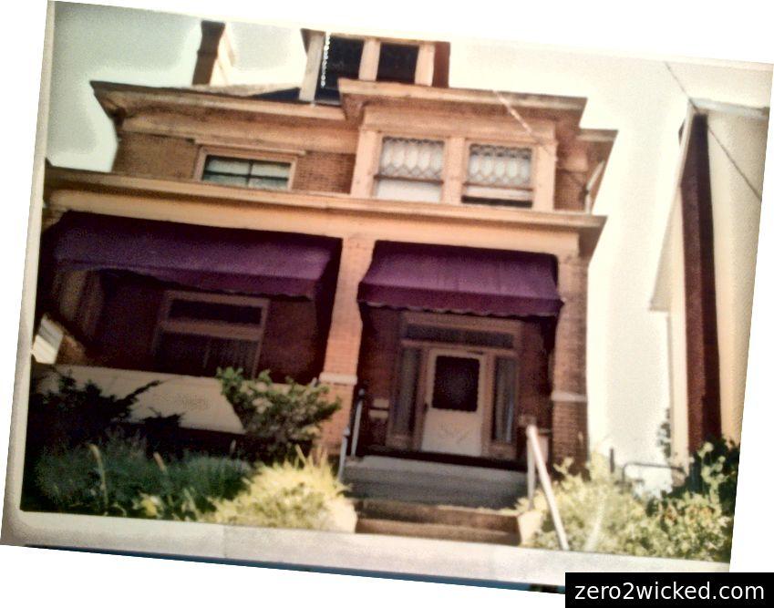Unser Haus in der Berkshire Avenue, Pittsburgh