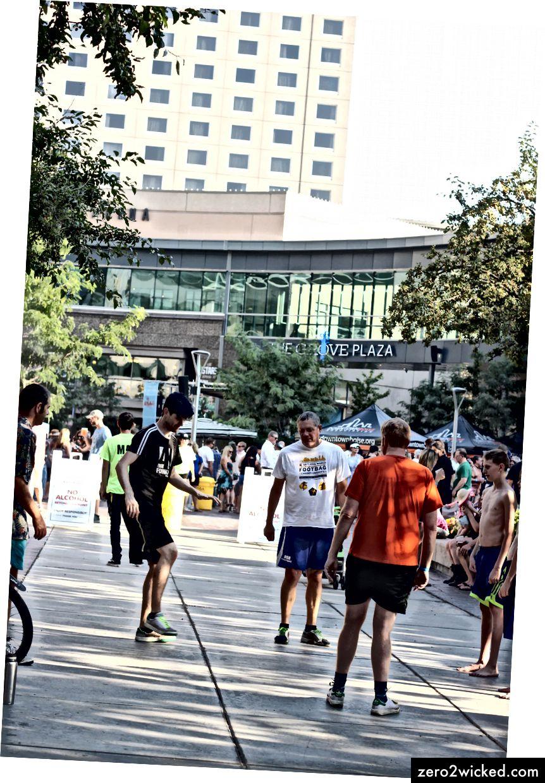 Kickers at Alive Nach 5 in der Innenstadt von Boise, Idaho Foto von: Sydney Lyon
