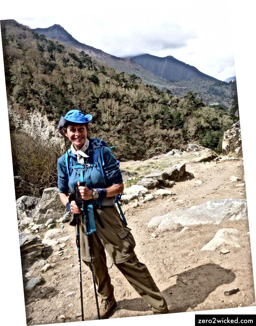 O autor no Nepal
