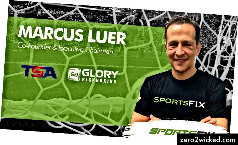 SportsFix vd Carl Kirchhoff och verkställande ordförande Marcus Luer.